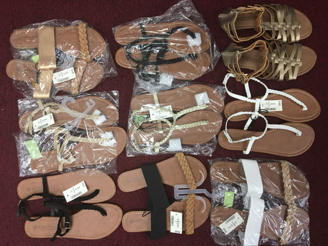 Aeropostale Sandals New Wholesale